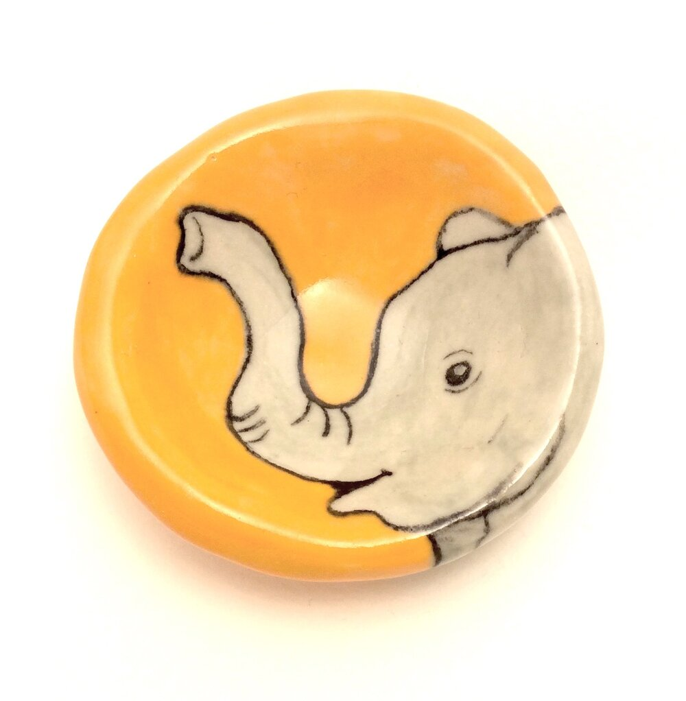 Elephant Pinch Pot