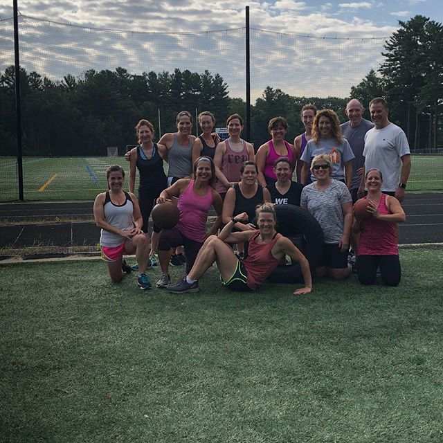Final Bootcamp of the Summer! So proud of my peeps ! New session for Fall begins Saturday's only 730am starting this week 9/8!