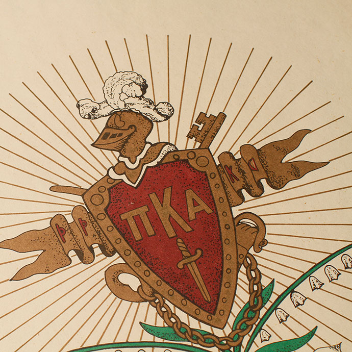 Pi Kappa Alpha's coat of arms