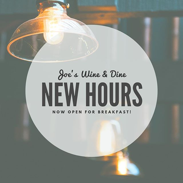 CHANGES TO HOURS Now open on Mondays and for breakfast - with an exciting new breakfast menu! Our new hours are as below: • Mon 08:00-22:00 • Tue 08:00-22:00 • Wed 08:00-22:00 • Thu 08:00-23:00 • Fri 08:00-23:00 • Sat 08:00-23:00 • Sun 12:00-22:00