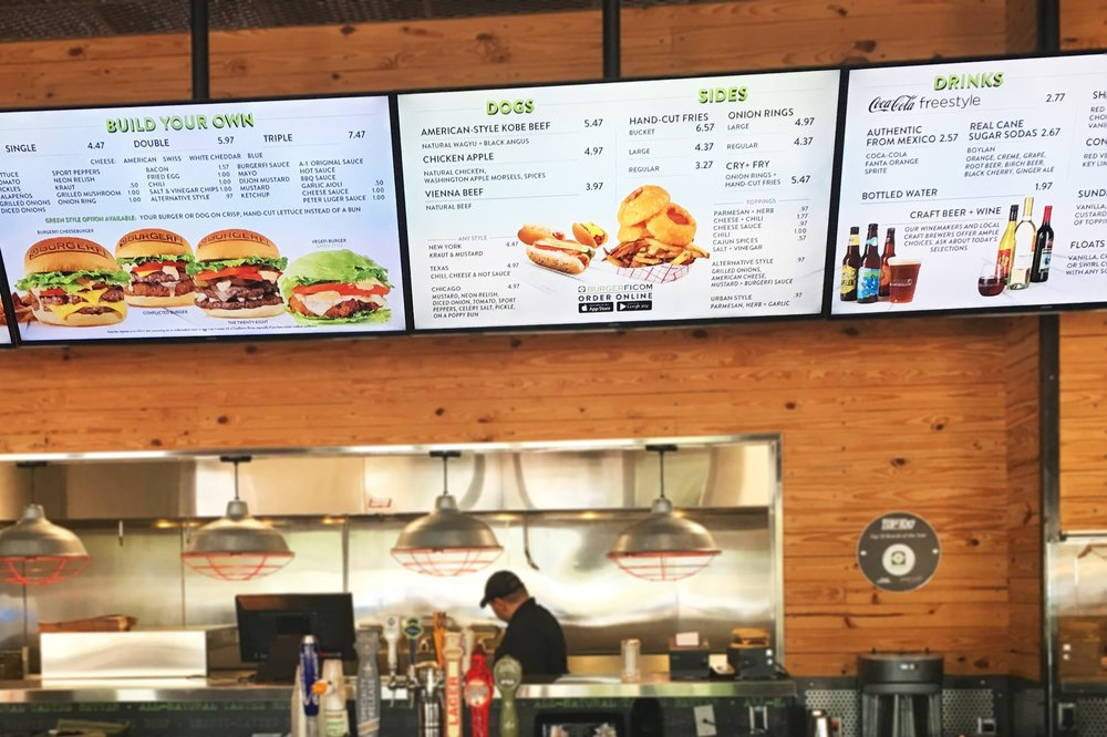 Promote specials. - Let Digital Menu Boards do the upselling for you.
