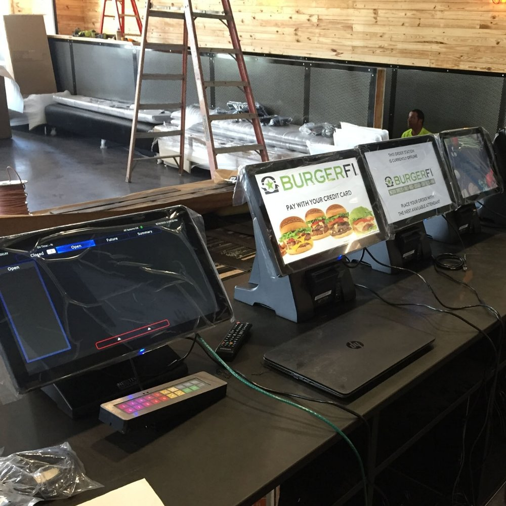 Installation - We handle the hardware and software installation for all your locations. We ship and install all your devices and screens with the help of our specialized Install Team—and then help you get your store up and running for you.