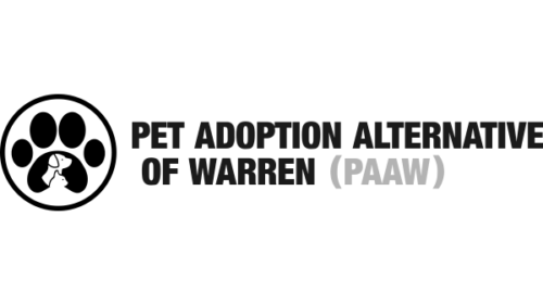 Pet Adoption Alternative of Warren (PAAW)  - We seek not only to help animals who have been lost or turned into our local shelters, but also to assist families in search of new homes for their pets due to lifestyle, living arrangement or other similar changes.