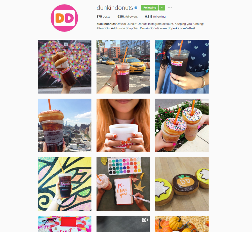 8. The Aesthetic of Your Feed - When an Instagrammer discovers your post and is drawn in by its beautiful execution, they'll tap into your profile. There, with a zoomed out view of your feed, they'll get their first clues to your brand. Make sure it tells the story you want it to tell.