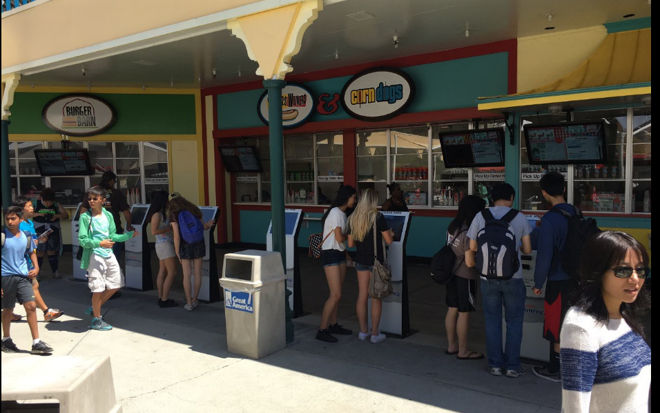 Cedar Fair - California's Great America Concessions Take off on Opening Weekend - Opening weekend results showed an amazing amount of orders and guest volume