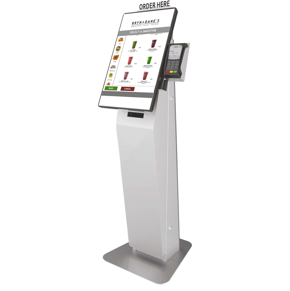 1. Check out the brand new X22 Self-Order Kiosk. -