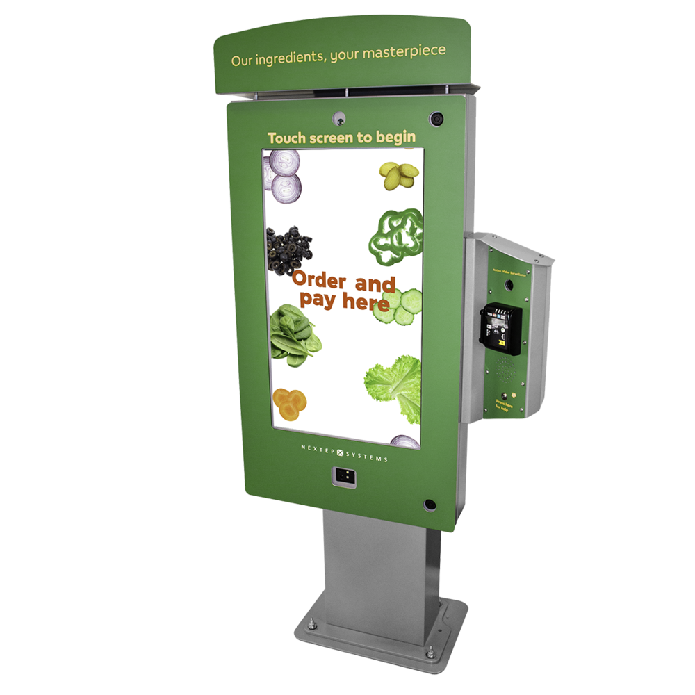 Test out our cutting-edge Touchscreen Drive-Thru.  -