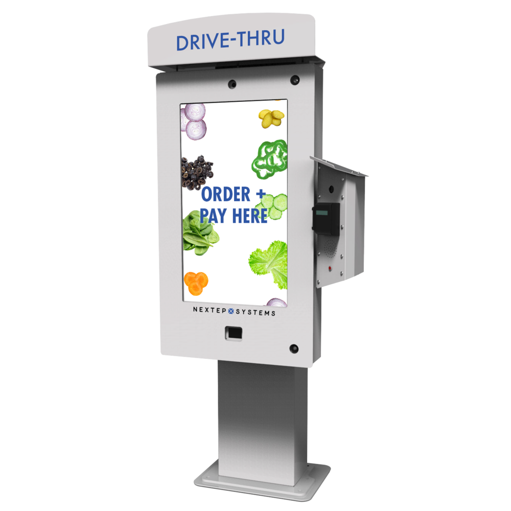 2. Test out our cutting-edge Touchscreen Drive-Thru.  -
