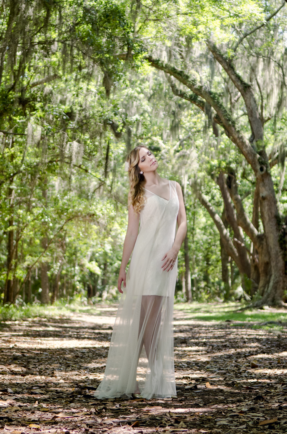 Model: Alyssa Buettner Hair and Makeup: Ashley Lo Stylist: Brittany Stafford Assistant: Tayler Aitken  Dresses From: Ivory and Beau Location: Wormsloe Historic Site - Savannah, GA