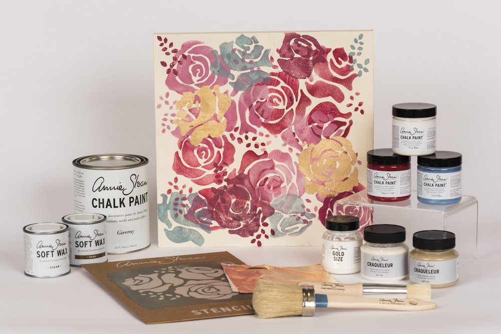 Chalk Paint Class by Design Partners