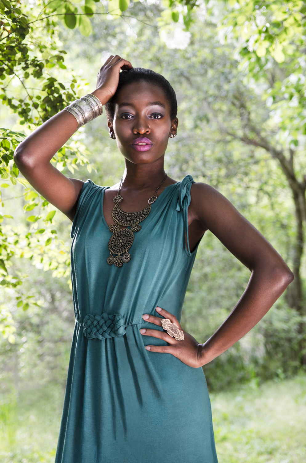 Model: Tenielle Adderley Hair and Makeup: Alex Filipowski Stylist: Trevenia Sandle Assistant: Megan Mullins  Location: Botanical Gardens - Savannah, GA