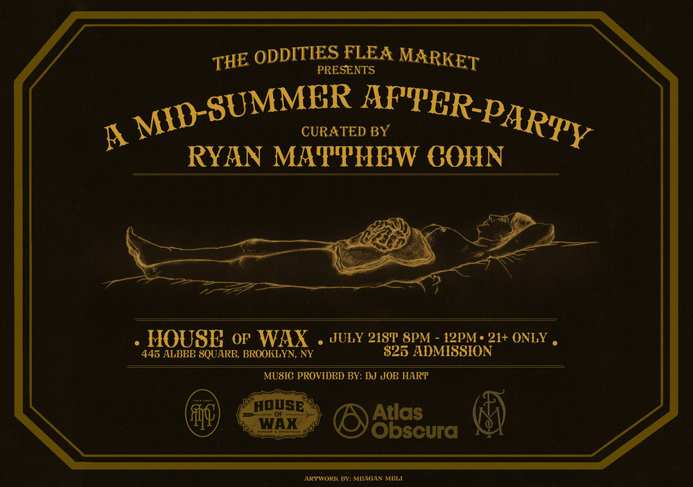 Oddities Flea Market Presents: A Mid-Summer After-Party -