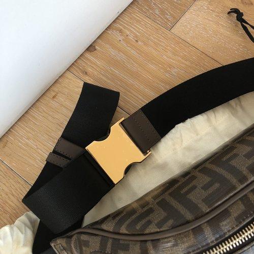 657484b4c46d Fendi Brown  Fendi Mania  Belt Bag — Olori Swank