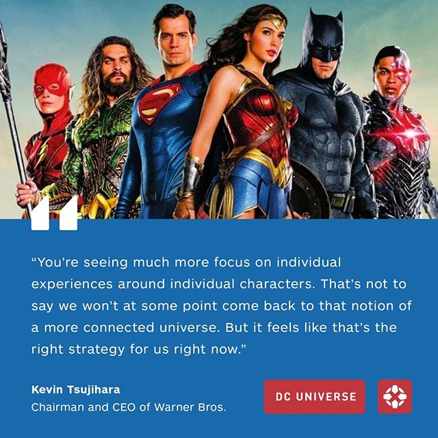Here's what Warner Bros.' CEO had to say about a shared DC cinematic universe. Do you agree?