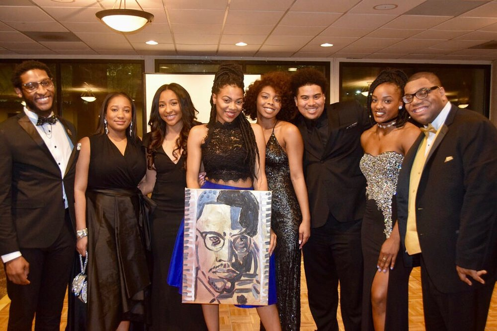 Temple University Black Excellence Gala  February 2017,  Philadelphia