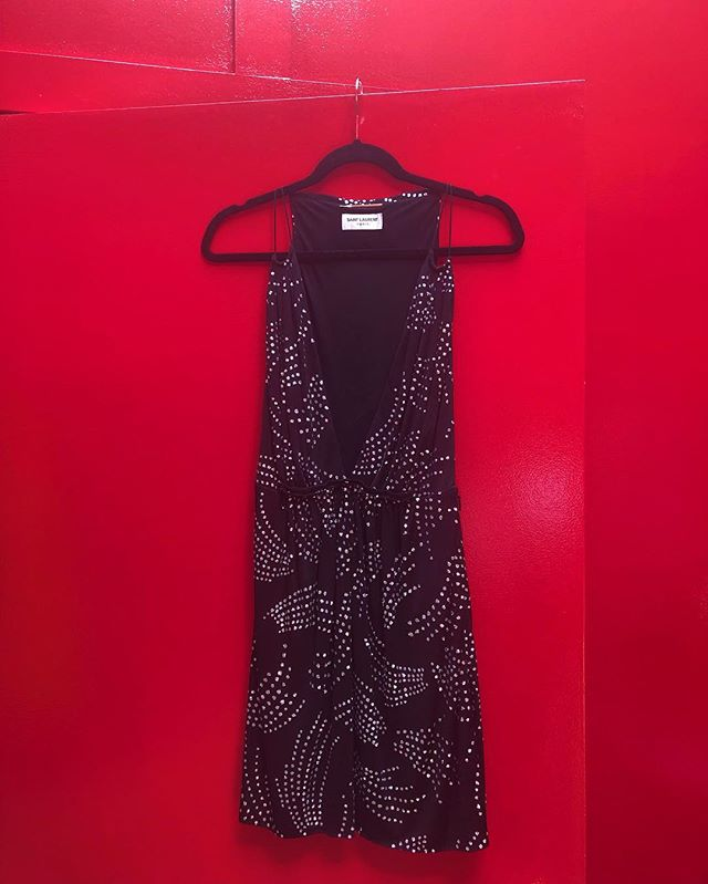Amazing @ysl little black dress now in store and online! Originally $2600, only $995. Come get it before it's gone!