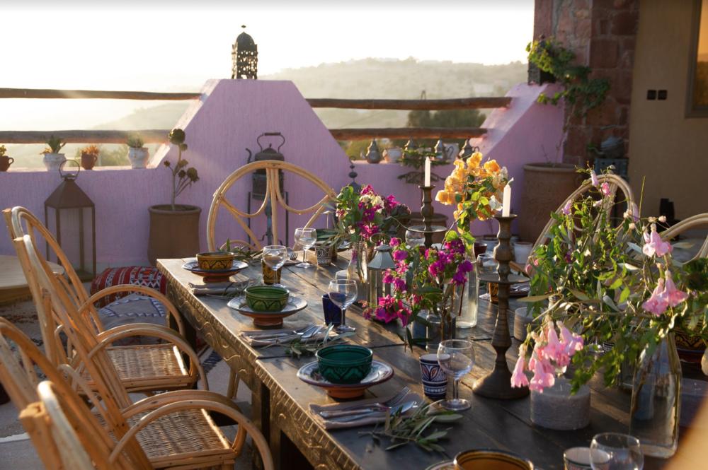 Sun Terrace & Dining Area