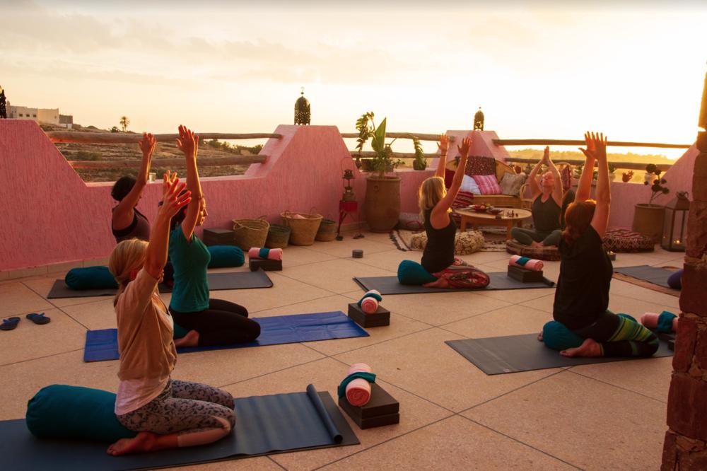 Sun Terrace Yoga Class