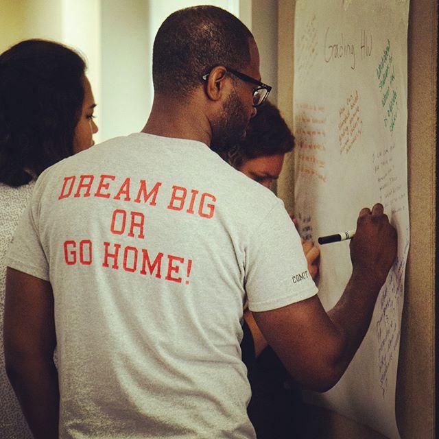 ✨Teachers have the coolest t-shirts. ✨🕶 2018 Teacher Leadership Academy at @brandmanu. . . . #education #teacher #thoughtleader #higherlearning #carlstonfamilyfoundation #leadership #summertime #higherlearning #california  #best #highschool #teachers #academic #fun
