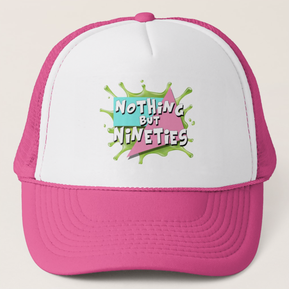Nothing But Nineties Hat Pink