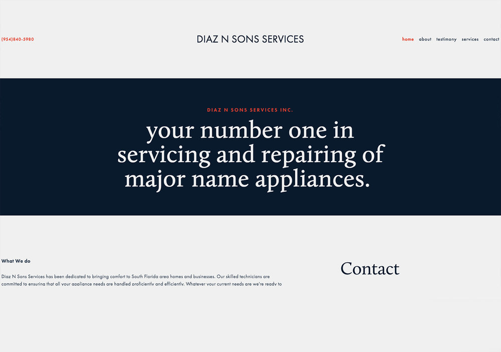 Diaz N Sons Services