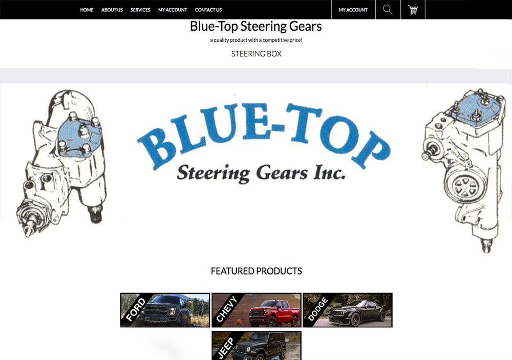 Blue Top Steering Gears Inc