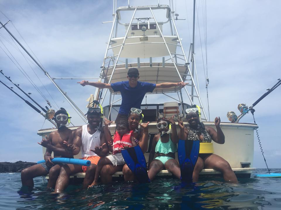 Fishing & Snorkeling - INCLUDES: lunch & snorkel gear (or use your own)On this trip we fish and snorkel in Kealakekua Bay. We are the only operator on the Big Island that allows you to do both on the same charter.We offer half and 3/4 day snorkel and fishing charters.Learn more