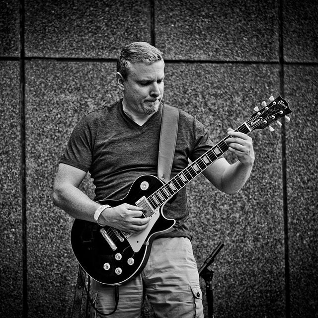 Shredding it up in #newhaven #ct #ctbands #gibsonlespaul #gibson #guitar #guitarist #rockband #rock #rocknroll #togetherinstyle #outsidereality #lumixg9 #wherelumixgoes