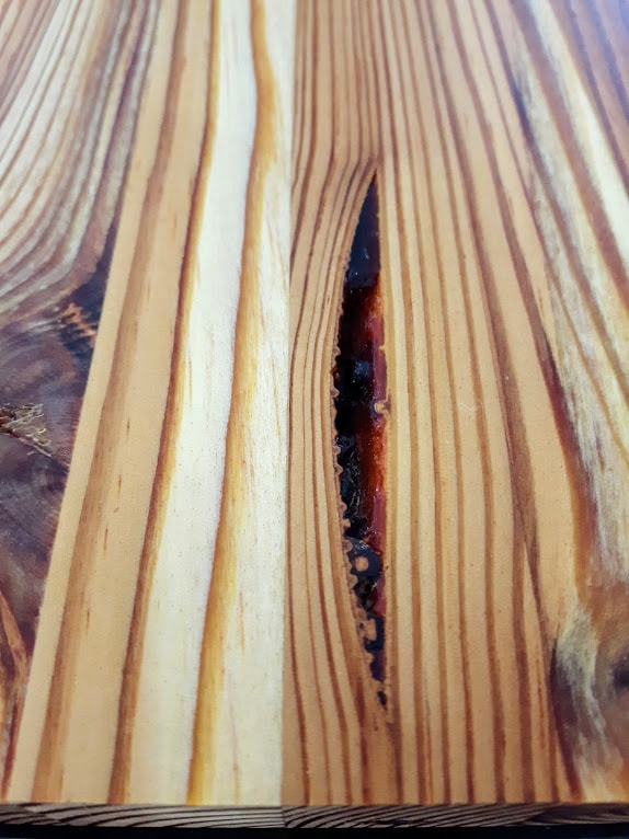 long leaf pine grain profile
