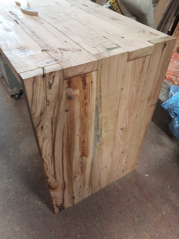 rustic custom table