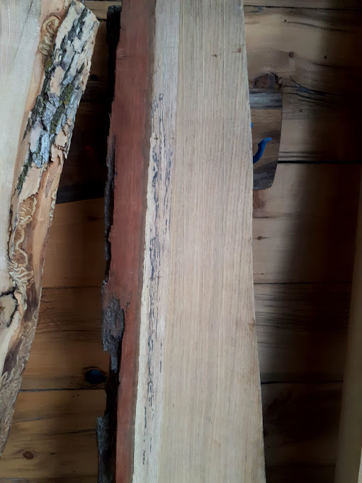 white oak grain profile