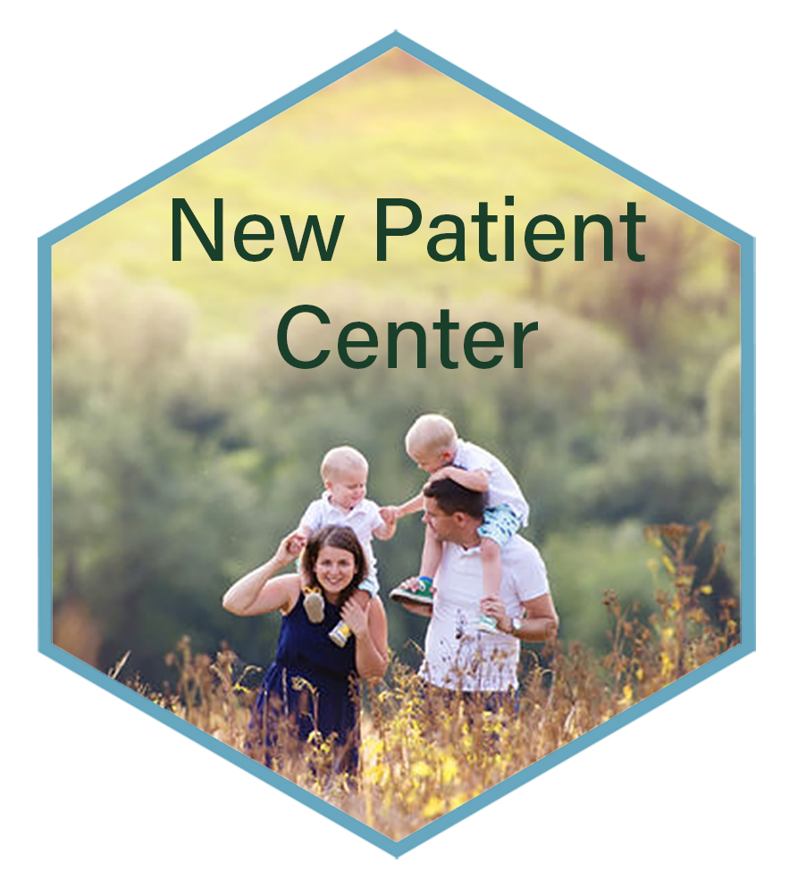 New Patient Center - Are you a NEW patient, or thinking of becoming one? Clicking on the image on the right will bring you to a page with info just for you. We will let you know what to expect on your FIRST VISIT and beyond, as well as share some great video information.You will also find paperwork you can print and fill out ahead of time. Click on the