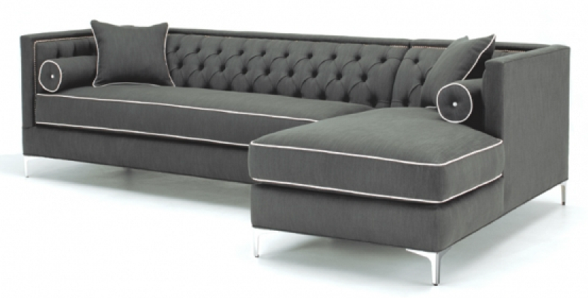 Ginebra One Arm Sofa with Chaise