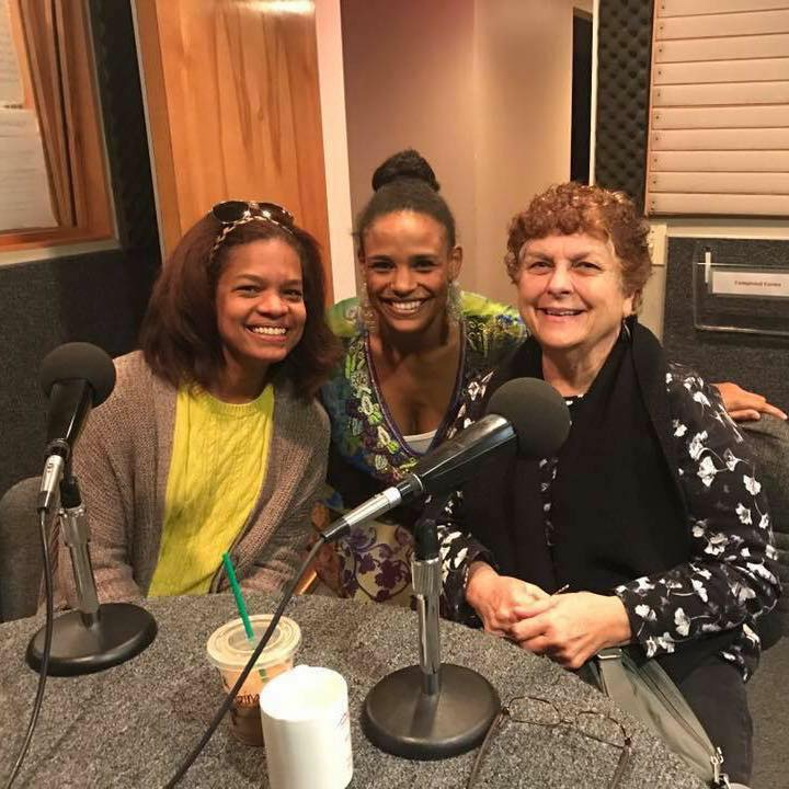 Julie Lynem, Courtney Haile, and Gina Whitaker visited KCBX's Central Coast Voices in 2016.