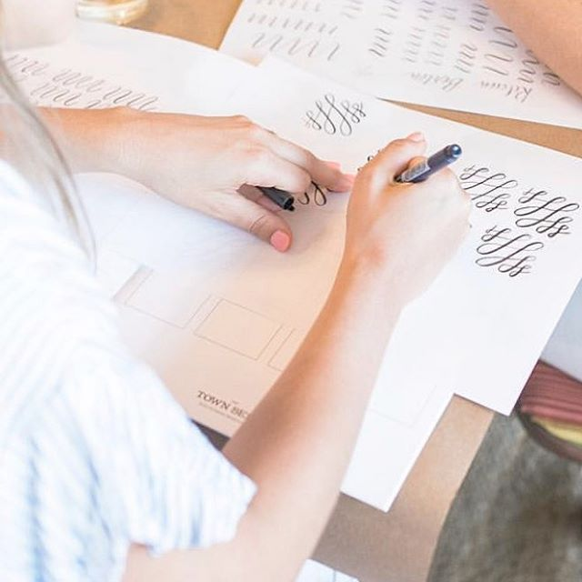 So excited for our next workshop! Intro to Brush Lettering with @thetownserif ! Y'all want to miss this! Link for tickets in the profile! ⠀ .⠀ .⠀ .⠀ .⠀ #Charleston #westashley #shoplocal #charlestonblog #homeandgift #homesweethome