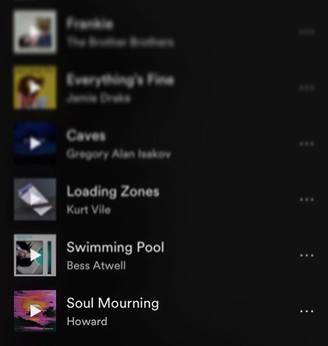 Huge thanks to @spotify for being so supportive of our upcoming album 🙏 Soul Mourning is now on #freshfolk playlist
