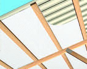 Post Frame Building Roof