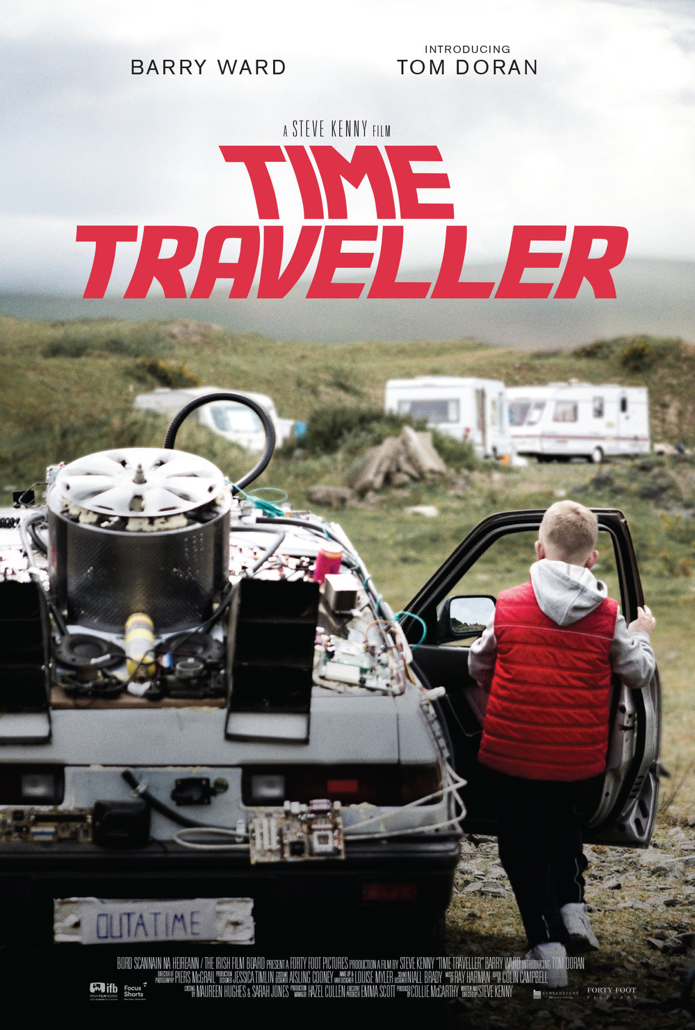 TIME TRAVELLER - Drama, Adventure. 11mins.A 'Back To The Future'-obsessed traveller boy strives to finish building his own DeLorean replica before his family are evicted from their halting site.Writer/Director: Steve KennyStarring: Tom Doran, Barry WardScreen Ireland's inaugural 'Focus Short' 2017. IFTA nominated 2018. Academy Award Qualified 2019.40+ Festival Screenings including Tribeca, Rhode Island, Clermont Ferrand, Galway, Oberhausen, and Edinburgh. Award winner at Foyle, Dublin, Nashville, Edmonton, and Leeds.Available on Amazon Prime (US & UK).