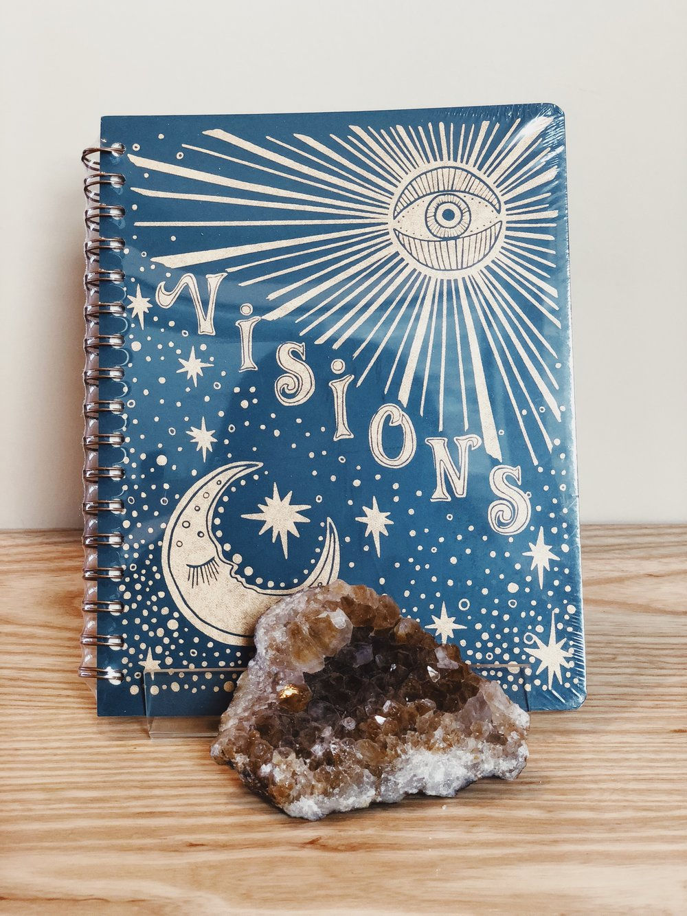 Native Bear Visions Notebook $22  A blank canvas for your dreams, ideas, thoughts, and doodles.