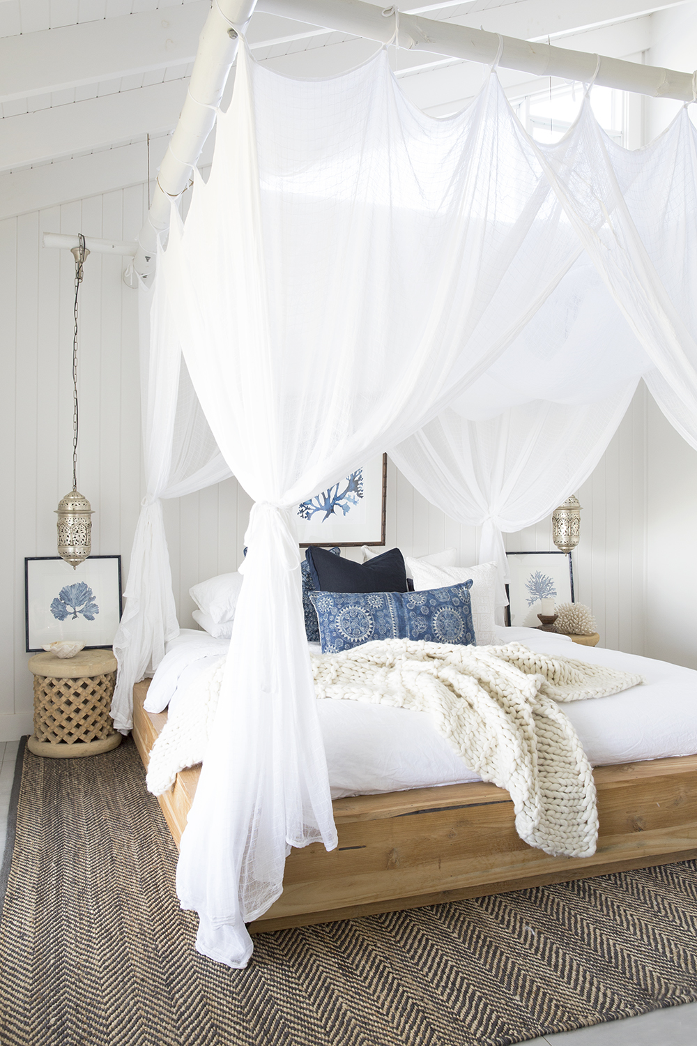 Get the Look: A Beachy Moroccan Themed Bedroom — Styling By ...