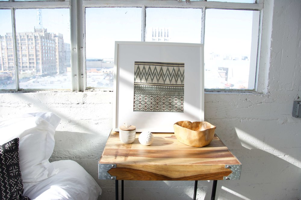 DIY: Fabric Art — Styling By Homies