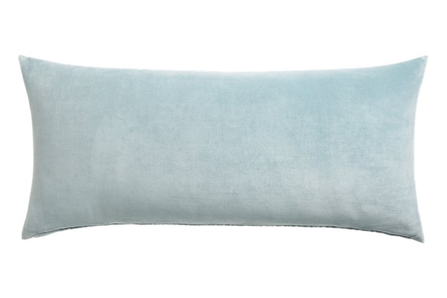 "36""X16"" Leisure Artic Blue Pillow"