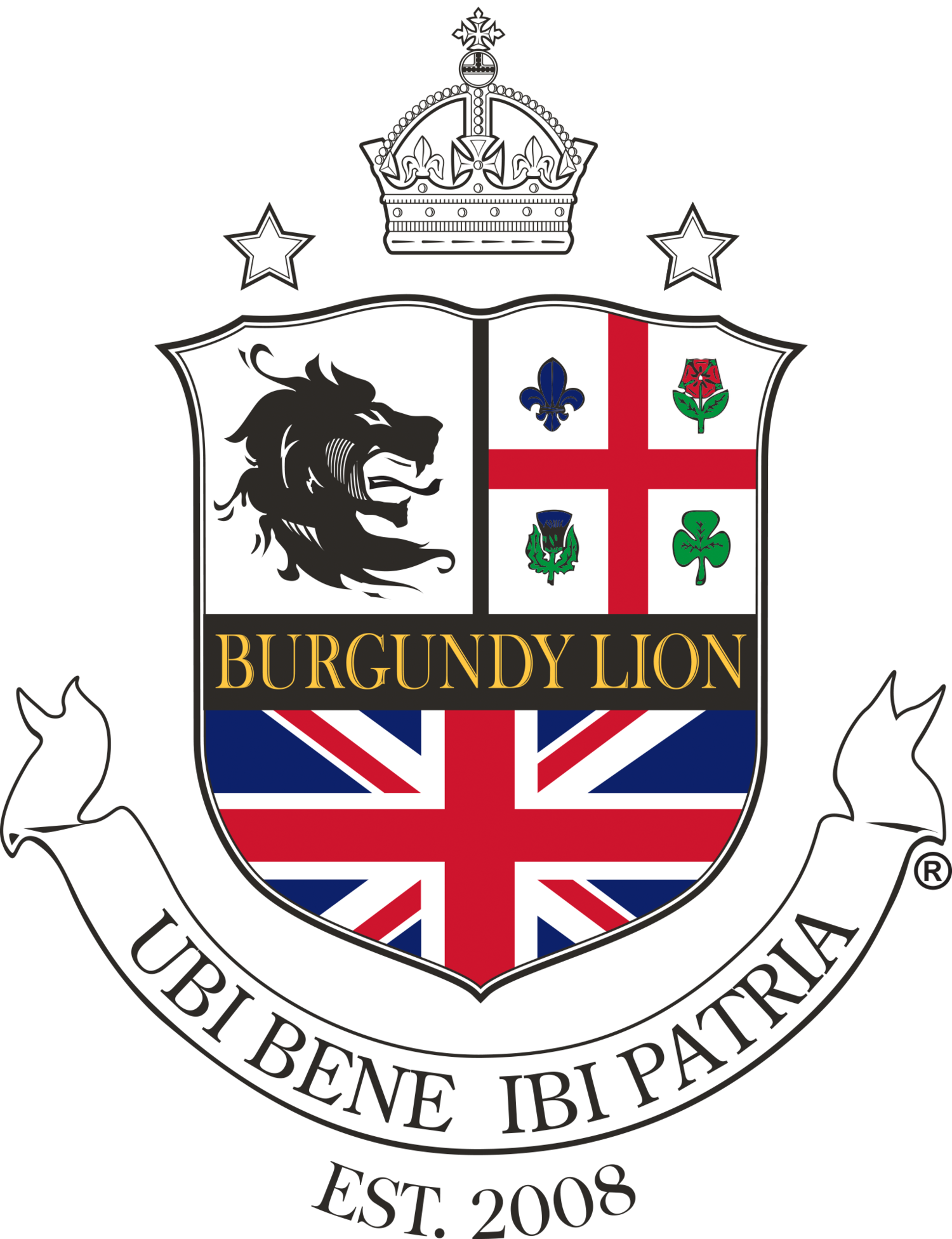 Pub Burgundy Lion