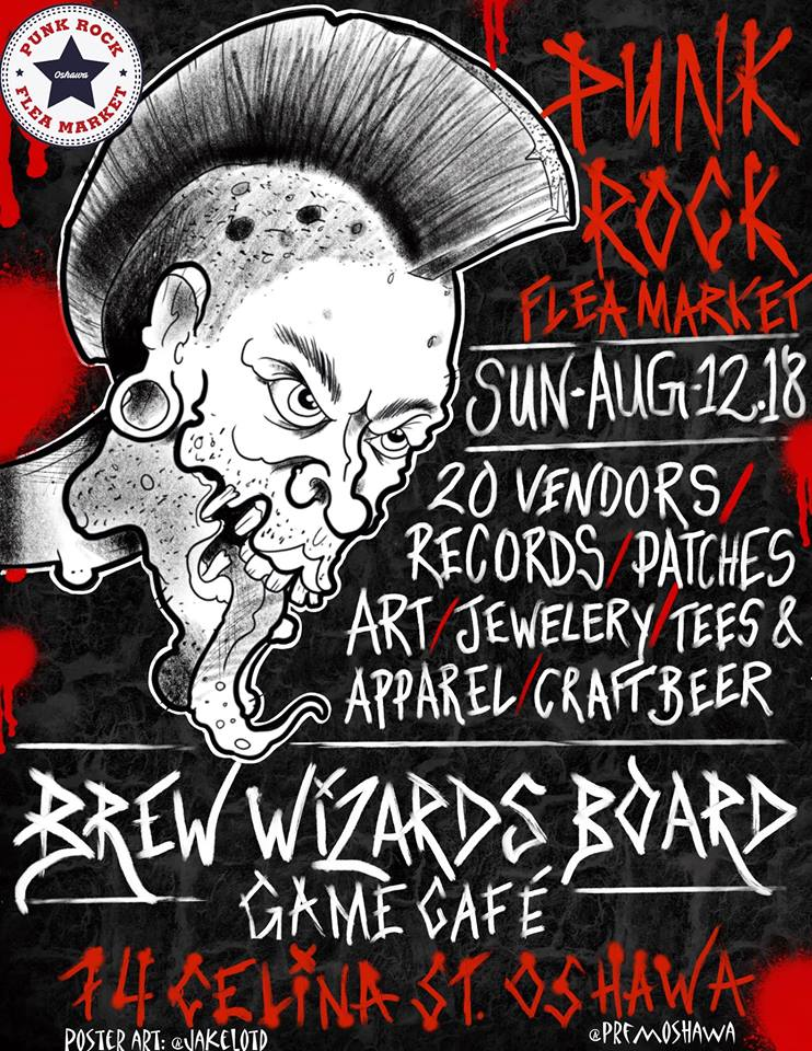 Punk Rock Flea Market 2 // Oshawa