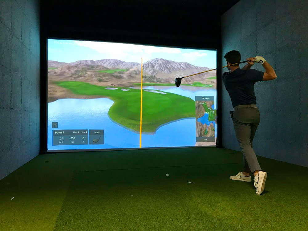 VIRTUAL GOLF ON FAMOUS COURSES WORLDWIDE