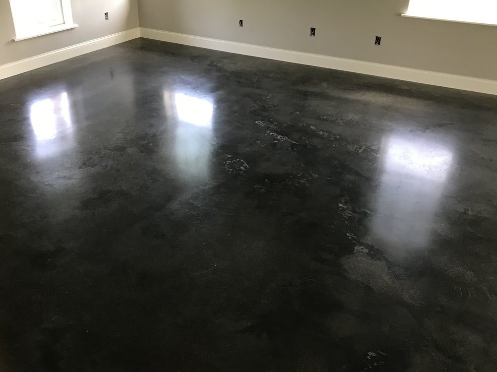 Polished Concrete House Austin Texas