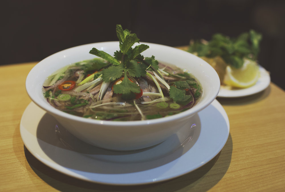 ^ (Phở - Flat Rice Noodle Soup with Brisket Beef)