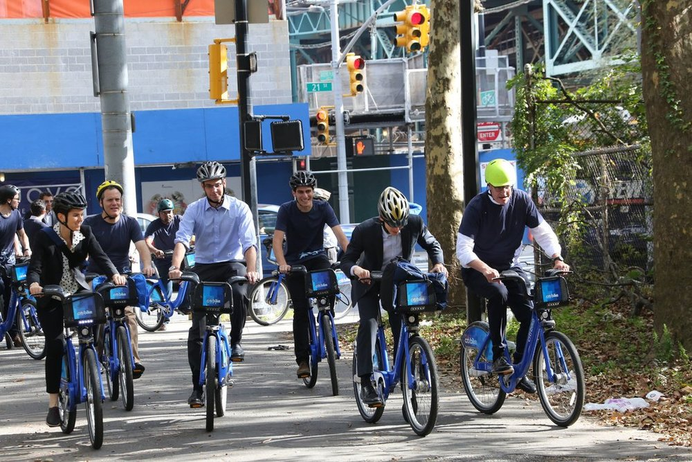 The Citi Bike program in New York. Photo courtesy of the New York Times.