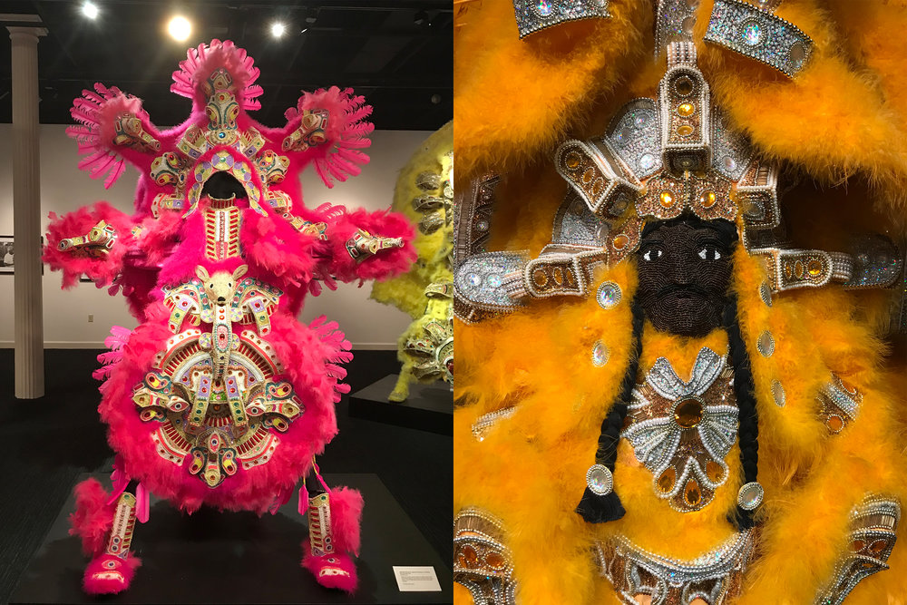 New Orleans: An Other America, an exhibition of former Big Chief Darryl Montana's suits at the New Orleans Jazz Museum