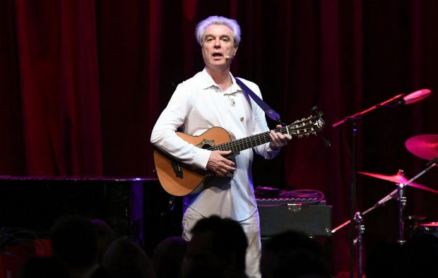 David Byrne Credit: Getty